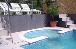 swimming pool villa kroatien