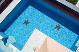 trogir villas swimming pool