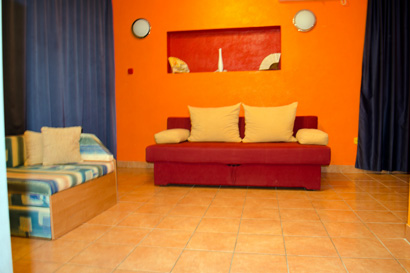 Big living room,good option for families with small kids on holidays in Croatia.