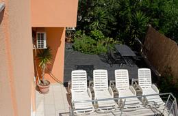 prestige apartment in croatia - terrasse