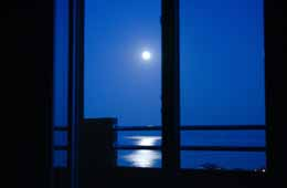 royal apartment moonlight view