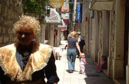 spirit of trogir old town